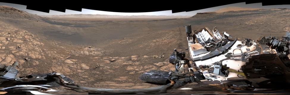 NASA показало самую детальную панораму Марса