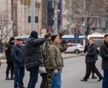 «Идите к Кику». В центре Кишинева протестующие перекрыли улицу Пушкина