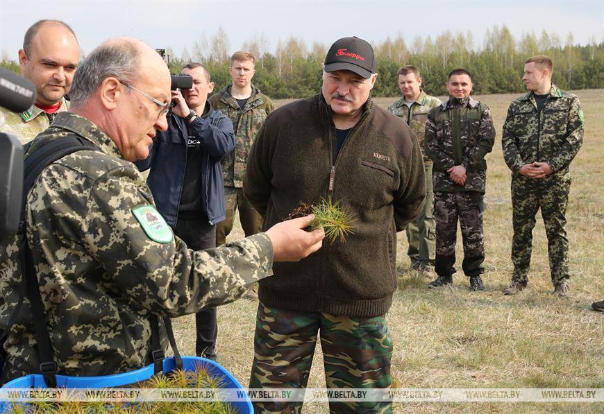 «Бог ударил нас поголове заплохое отношение кэкологии». Лукашенко провел республиканский субботник (ВИДЕО)