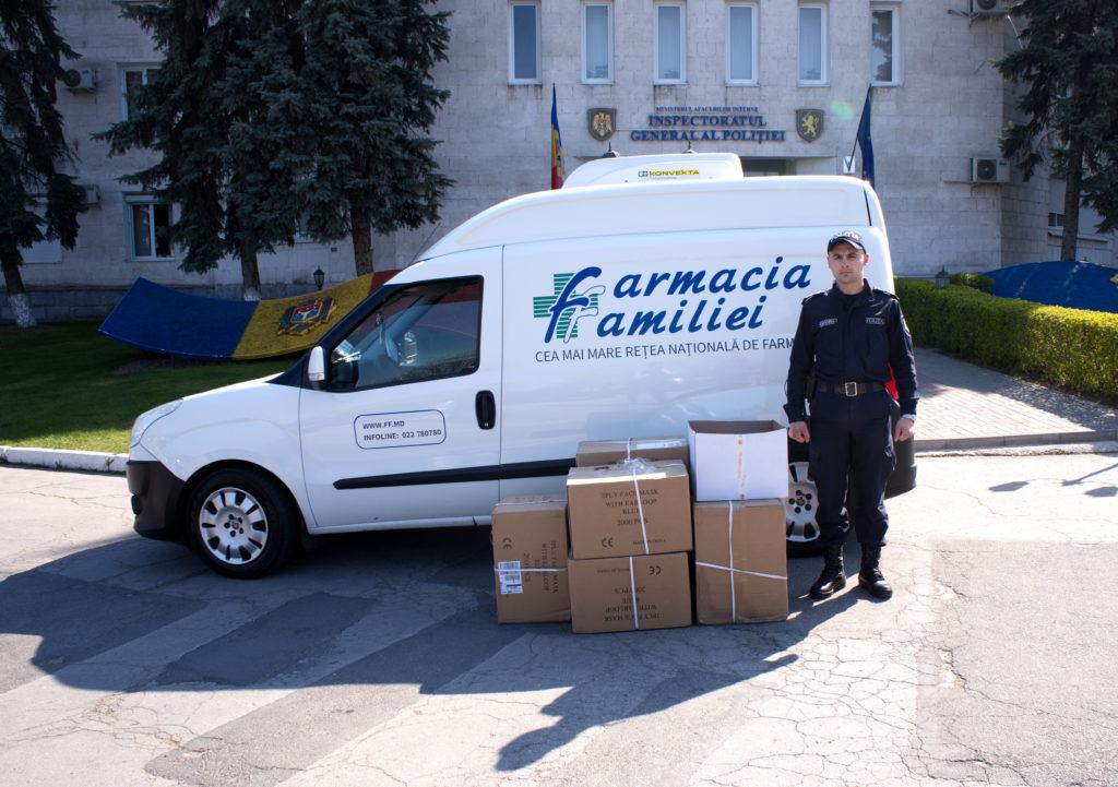 Farmacia Familiei șiDita EstFarm seimplică însprijinirea instituțiilor Statului înlupta contra pandemiei COVID 19