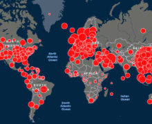 Число умерших с коронавирусом в мире превысило 200 тыс.