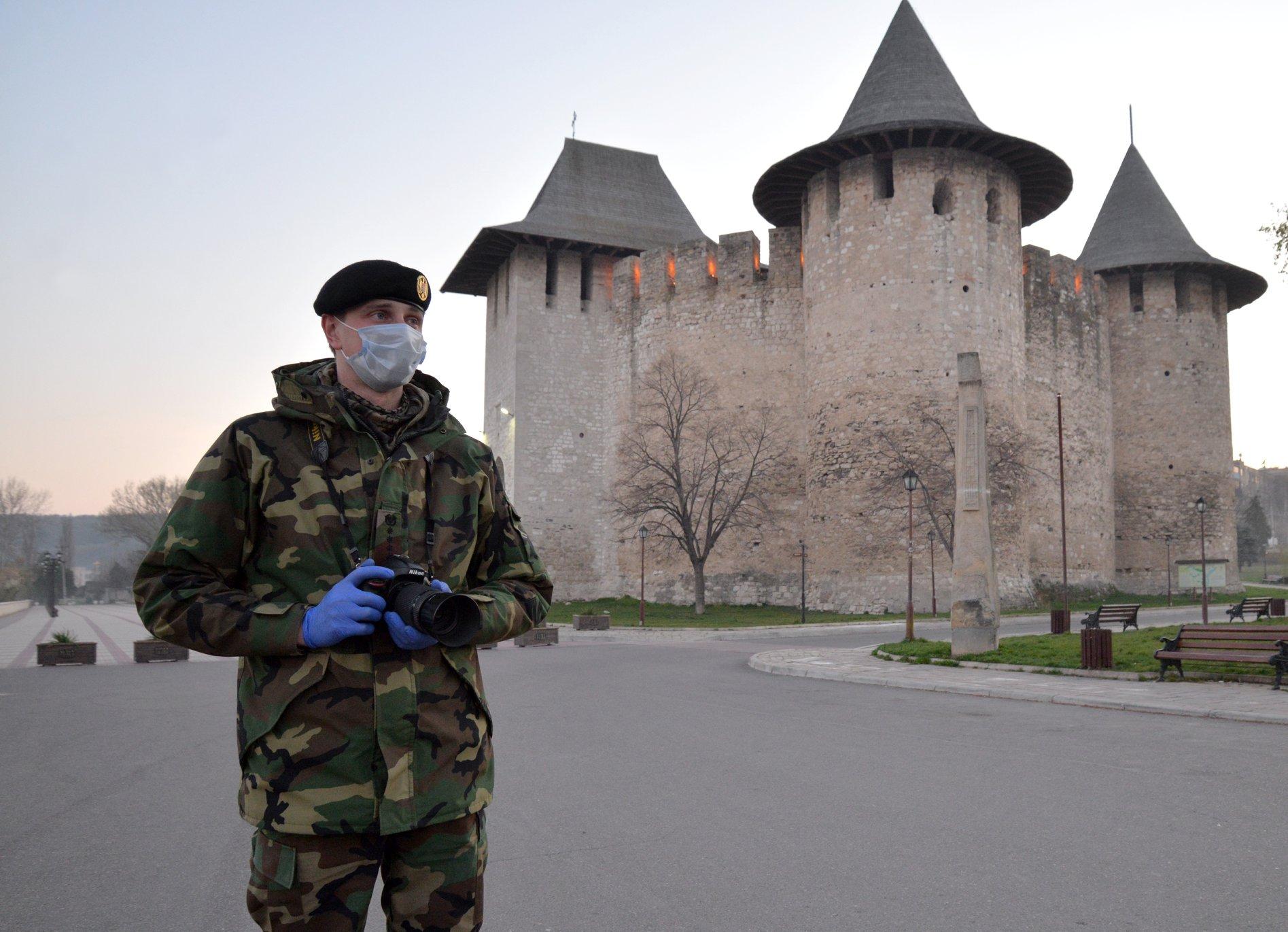 Национальная армия патрулирует Сороки и Штефан-Водэ (ФОТО)