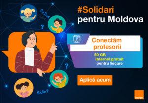 Солидарны ради Молдовы: Интернет для учителей
