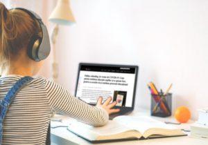 """VIDEO Platforma """"Educație Online"""" a fost lansată. Biblioteca digitală conține 6000 de lecții pentru elevii claselor I-XII"""