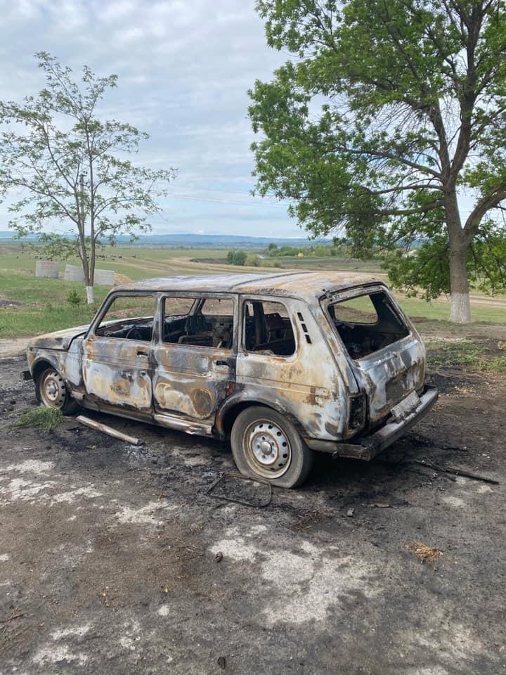 Автомобиль мэрии села Негурены сгорел минувшей ночью. Полиция проводит расследование