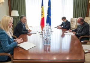«Яуважаю румынский народ и восхищаюсь им». Кику встретился спослом Румынии