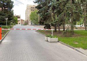 В Кишиневе сквер перед Театром оперы и балета закрыли для машин