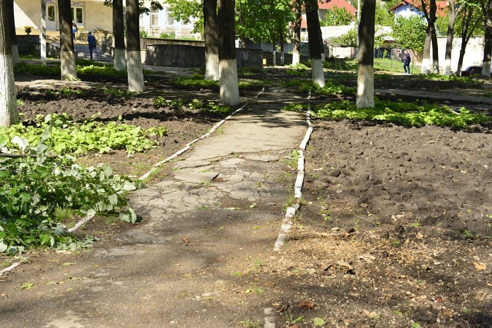 FOTO Un scuar din cartierul Telecentru al capitalei va fi reamenajat