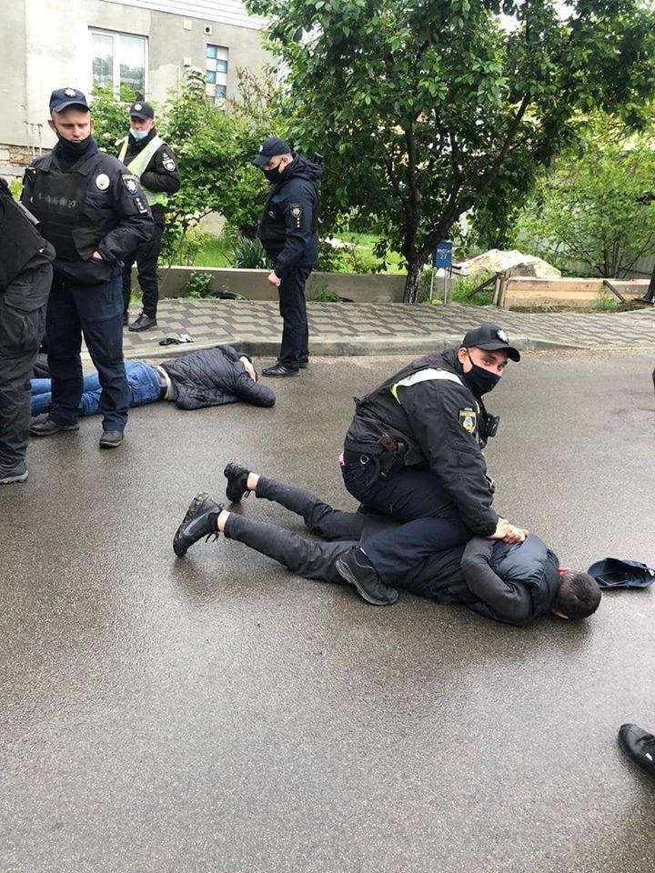 ВКиевской области произошла массовая перестрелка (ВИДЕО)