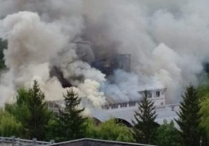 Пожар наMoldexpo локализовали. ФоторепортажNM