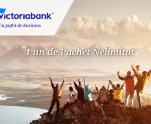 1 an de Pachet Nelimitat de la Victoriabank și peste 1 500 de abonați