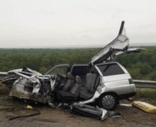 ВКагульском районе автомобиль столкнулся с фурой. Водитель погиб наместе