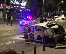 В результате крупной аварии в центре Кишинева погибли водитель и пассажир такси (ФОТО)