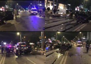 Водитель Audi рассказал свою версию аварии в центре Кишинева. Кто был за рулем?