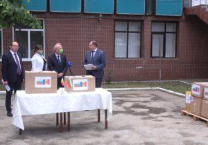 Болгария передала молдавским врачам защитное оборудование (ВИДЕО)