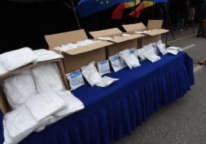 «Мы пользовались ими каждый день». В БСМП рассказали о масках и защитных костюмах из Румынии