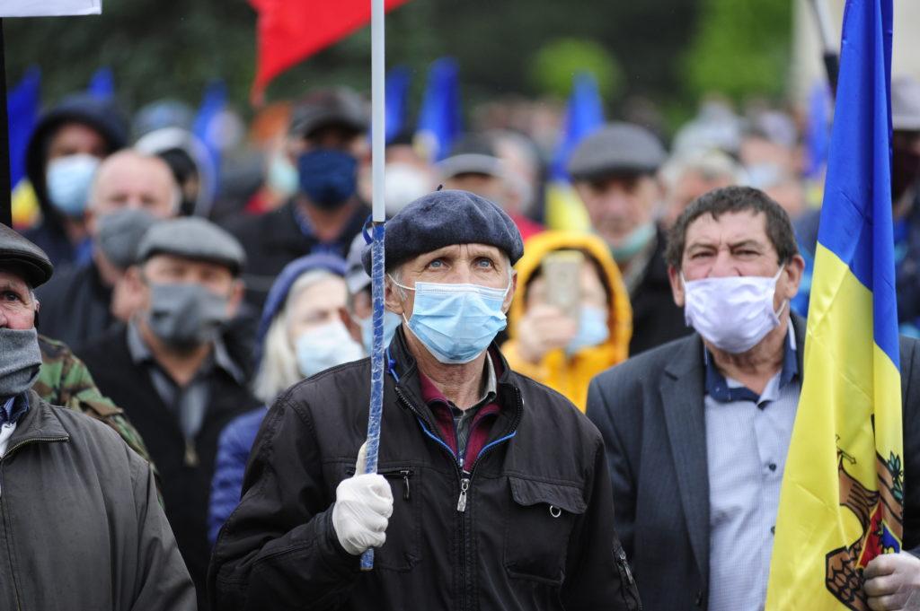 Protestul veteranilor