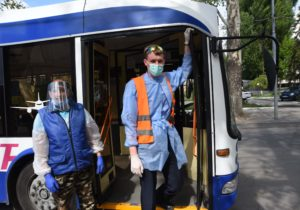 ВКишиневе иБельцах общественный транспорт небудет ходить навыходных до 30 июня