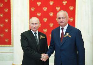 «Наосновании моей договоренности». Додон опродлении Россией беспошлинного ввоза товаров изМолдовы