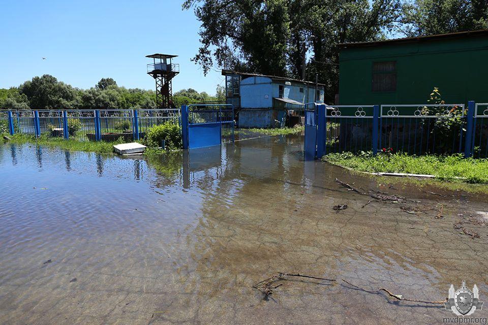 ВМолдове из-за паводков пострадали дома вНовоаненском районе. ВТирасполе затопило пляж (ФОТО)