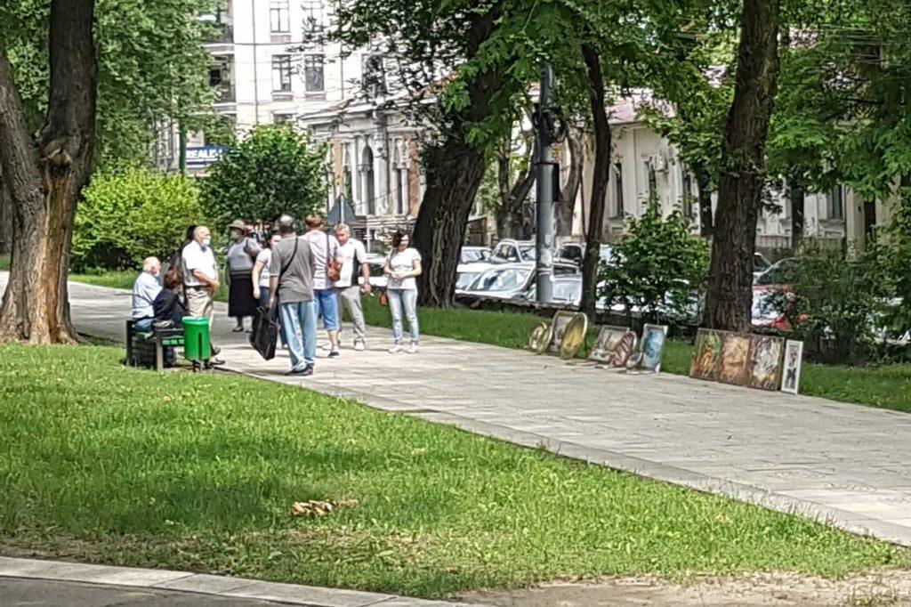 Кишиневскому «Арбату» нашли временное место