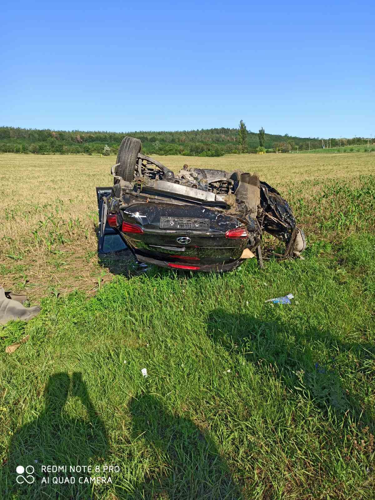 ВХынчештском районе произошла авария. Один человек погиб