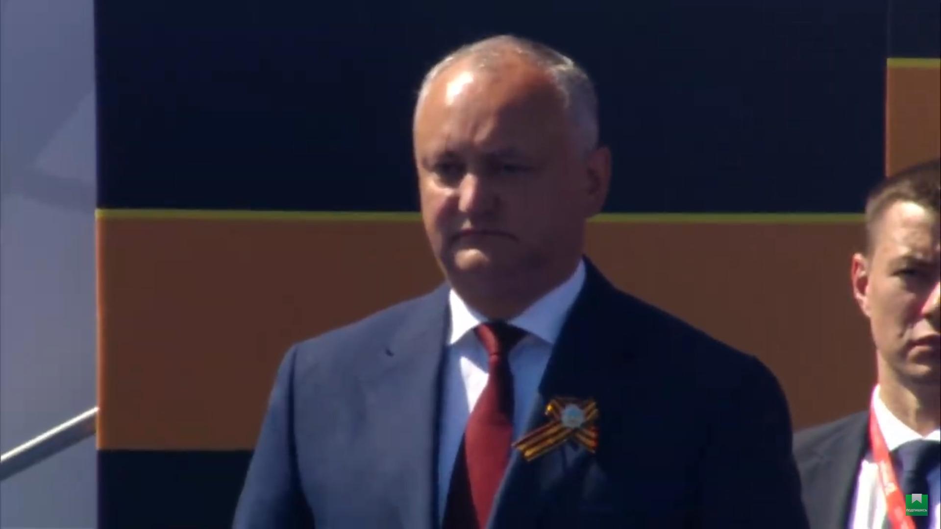 Parada Victoriei de la Moscova, în plină pandemie de coronavirus. La eveniment au participat soldați moldoveni și președintele Igor Dodon (FOTO/VIDEO)