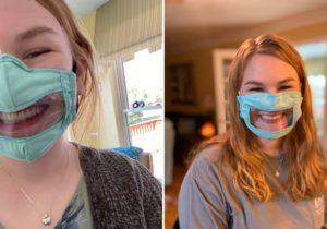 VIDEO Măștile transparente – trend, dar și soluție pentru persoanele cu deficiențe de auz