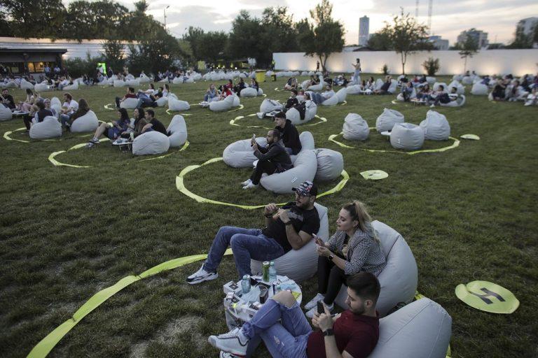 FOTO În capitala României s-a desfășurat primul concert de la apariția pandemiei de COVID-19