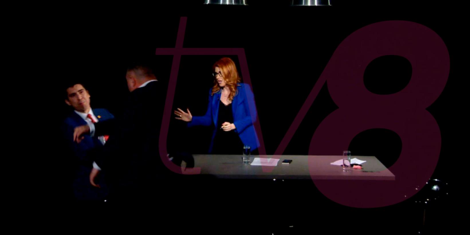 FOTO Altercație între doi deputați PSRM și PAS într-o emisiune televizată
