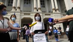 PAS protest la procuratura