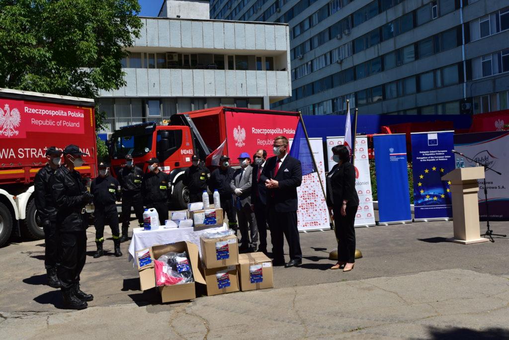 Ajutor umanitar din Polonia
