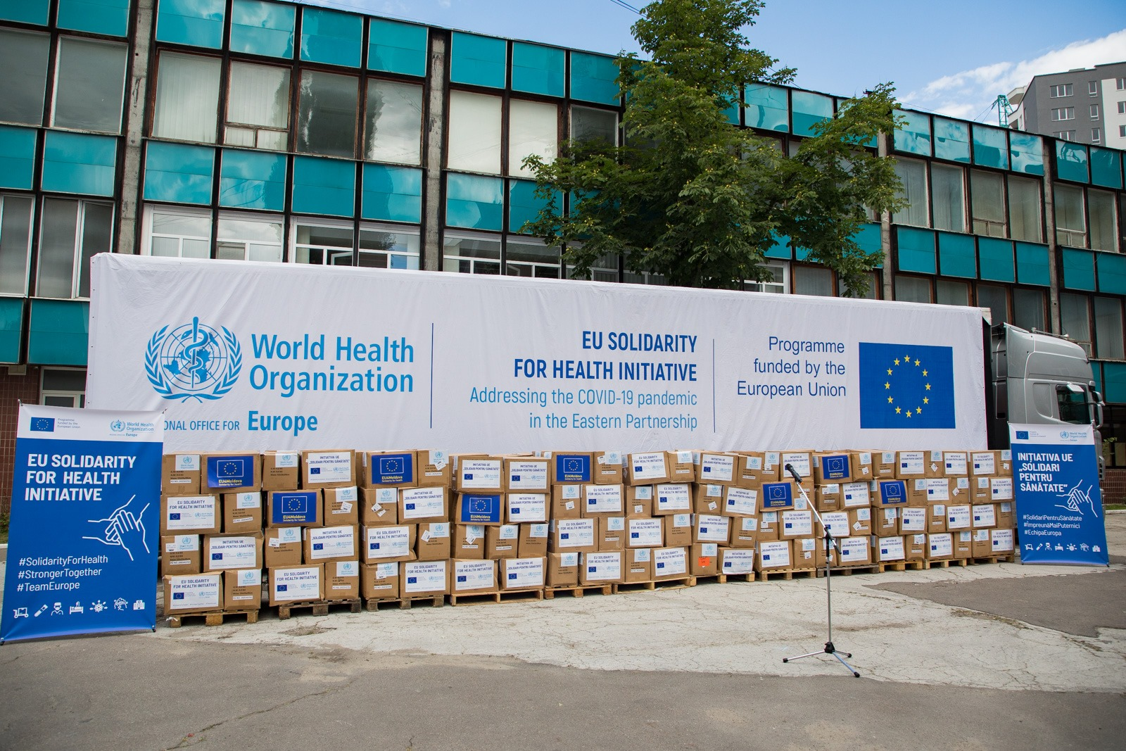 Lot de echipamente medicale în valoare de peste 2,8 milioane euro, oferit Moldovei de către UE și OMS