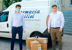 Sandoz Pharmaceutical иDita EstFarm передали Молдове крупную партию лекарств для борьбы сCOVID-19