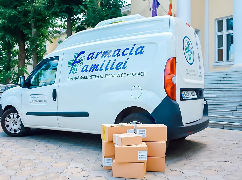 Sandoz Pharmaceutical și Dita EstFarm au transmis Moldovei o partidă mare de medicamente pentru lupta cu COVID-19