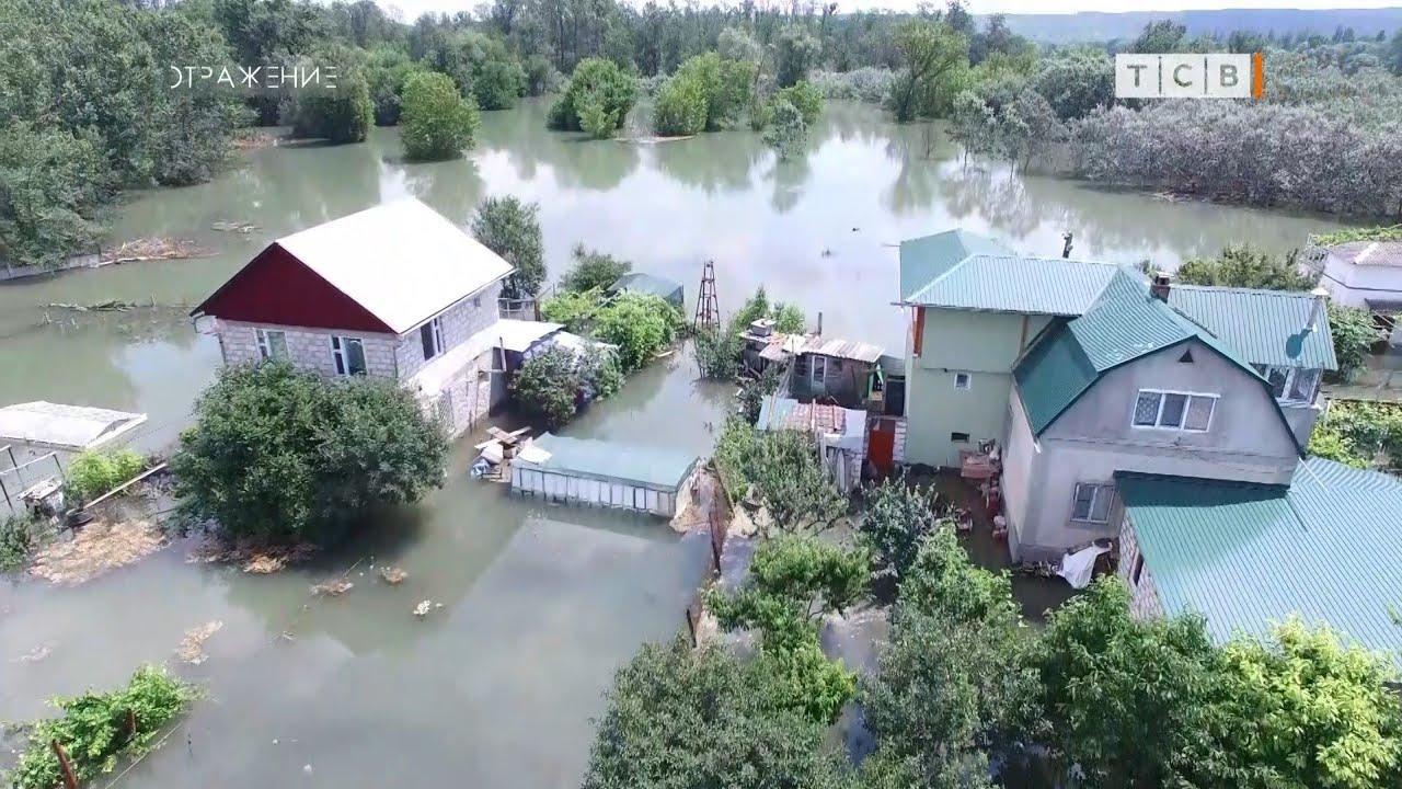 VIDEO Veneția din Transnistria. Locuitorii satului Merenești au rămas fără lumină, gaz și apă potabilă în urma inundațiilor