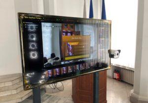 La intrare în Primăria Chișinău a fost instalat untermoscaner. Sistemul este în regim de testare