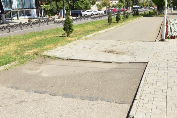 В Кишиневе обновят пешеходную аллею напроспекте Григоре Виеру