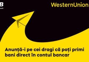 Transferuri băneștidirect lacont— unnou serviciu înRepublica Moldova lansat deWestern Union înparteneriat cuMoldova Agroindbank
