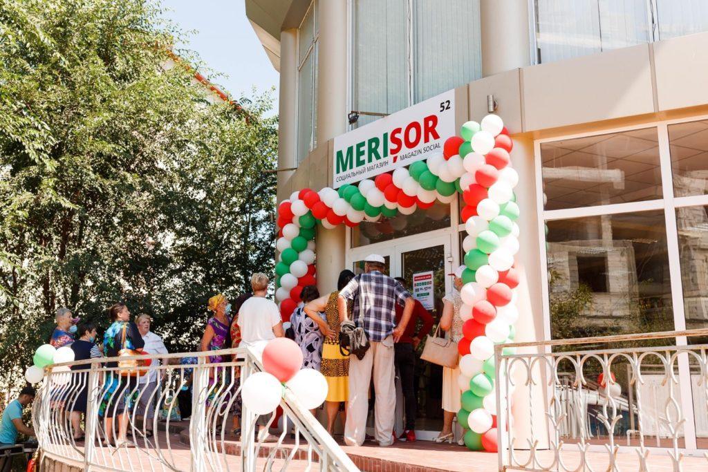 Партия «Шор» открыла вКагуле 132-й социальный магазин сети «Merișor»