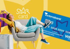 STAR Card — это больше, чем карта для покупок. Все, что вам нужно знать о STAR Card от Victoriabank!