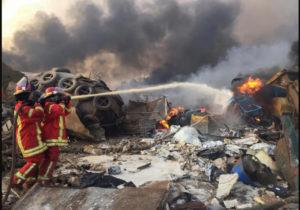 Граждан Молдовы нет среди пострадавших при взрыве вБейруте