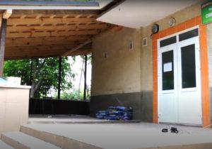 В Молдове в одной из гимназий строят класс на открытом воздухе из-за коронавируса