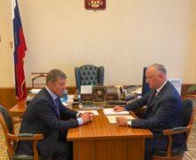 Додон встретился вМоскве сКозаком. Очем они договорились?