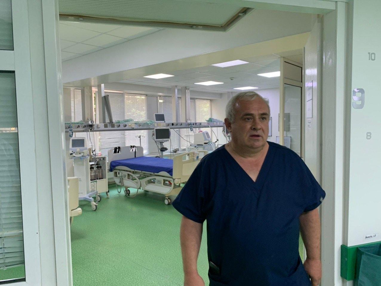 Вбольнице Святой Троицы вКишиневе открыли отделение «COVID-19» (ФОТО)