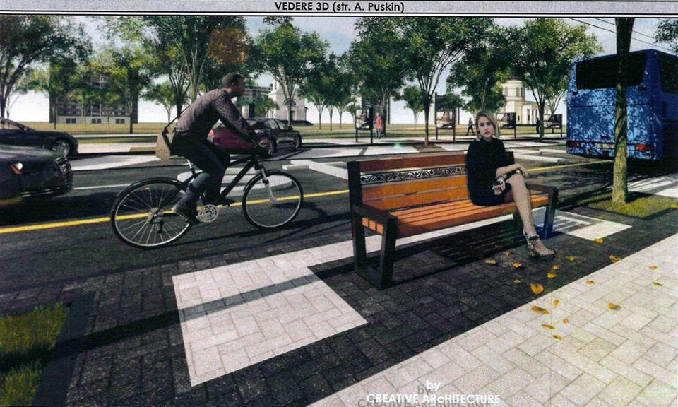 В Кишиневе повторно используют демонтированные на трех улицах асфальт и плитку