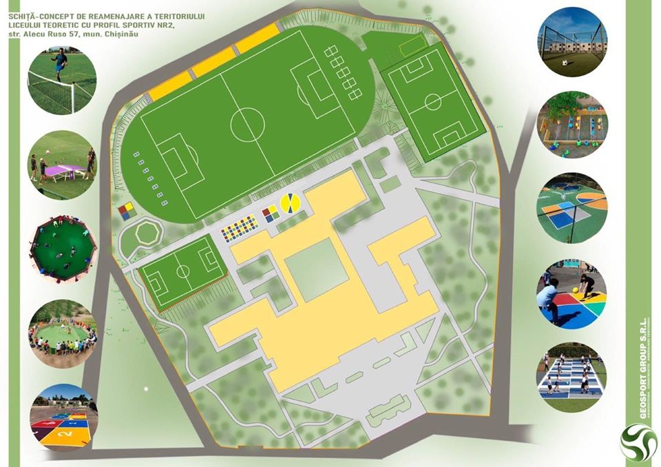 ВКишиневе построят современную спортивную площадку на Чеканах (ФОТО)