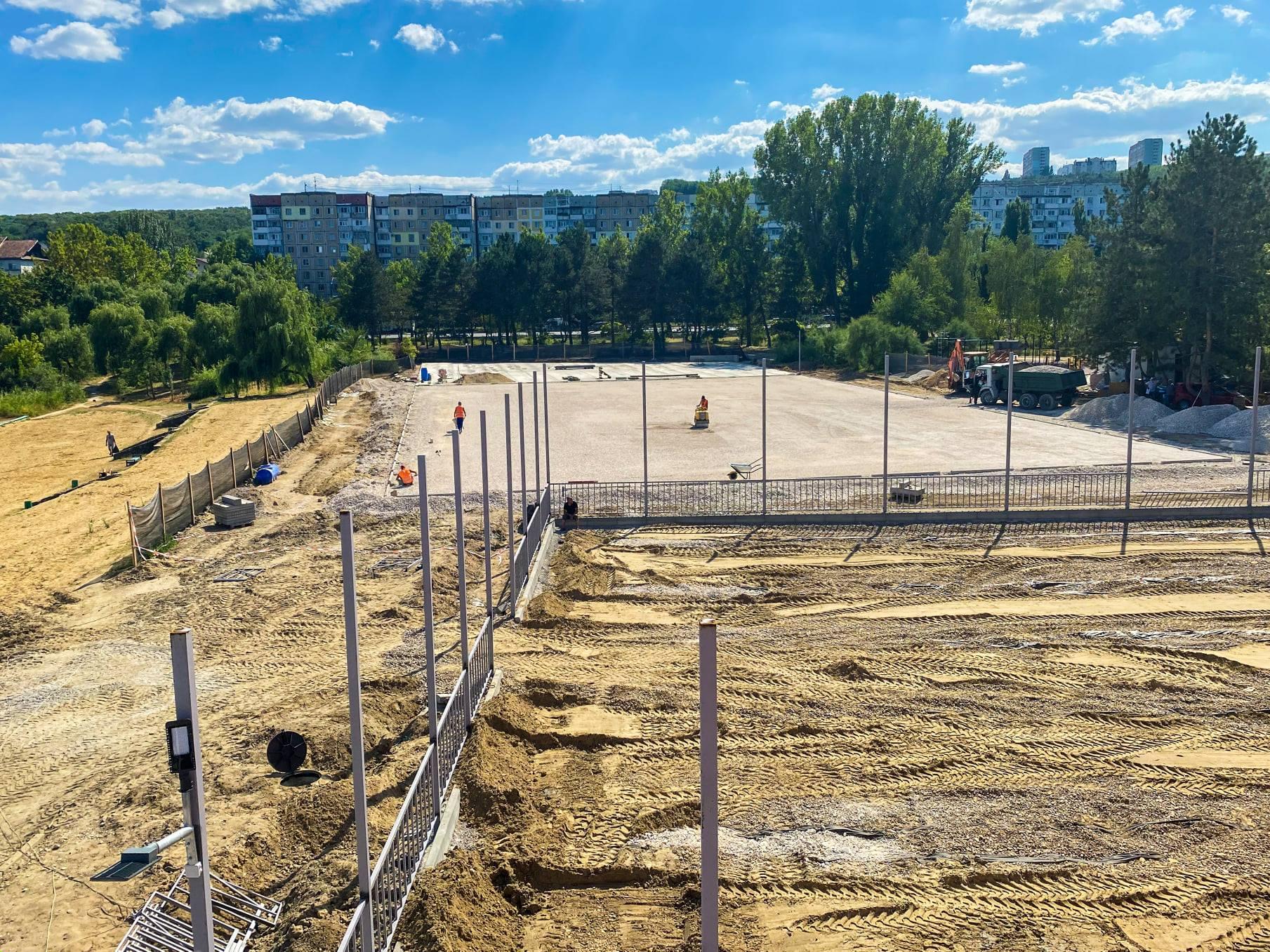 Чебан: Строительство стадиона встоличном парке LaIzvor завершено на95% (ФОТО)