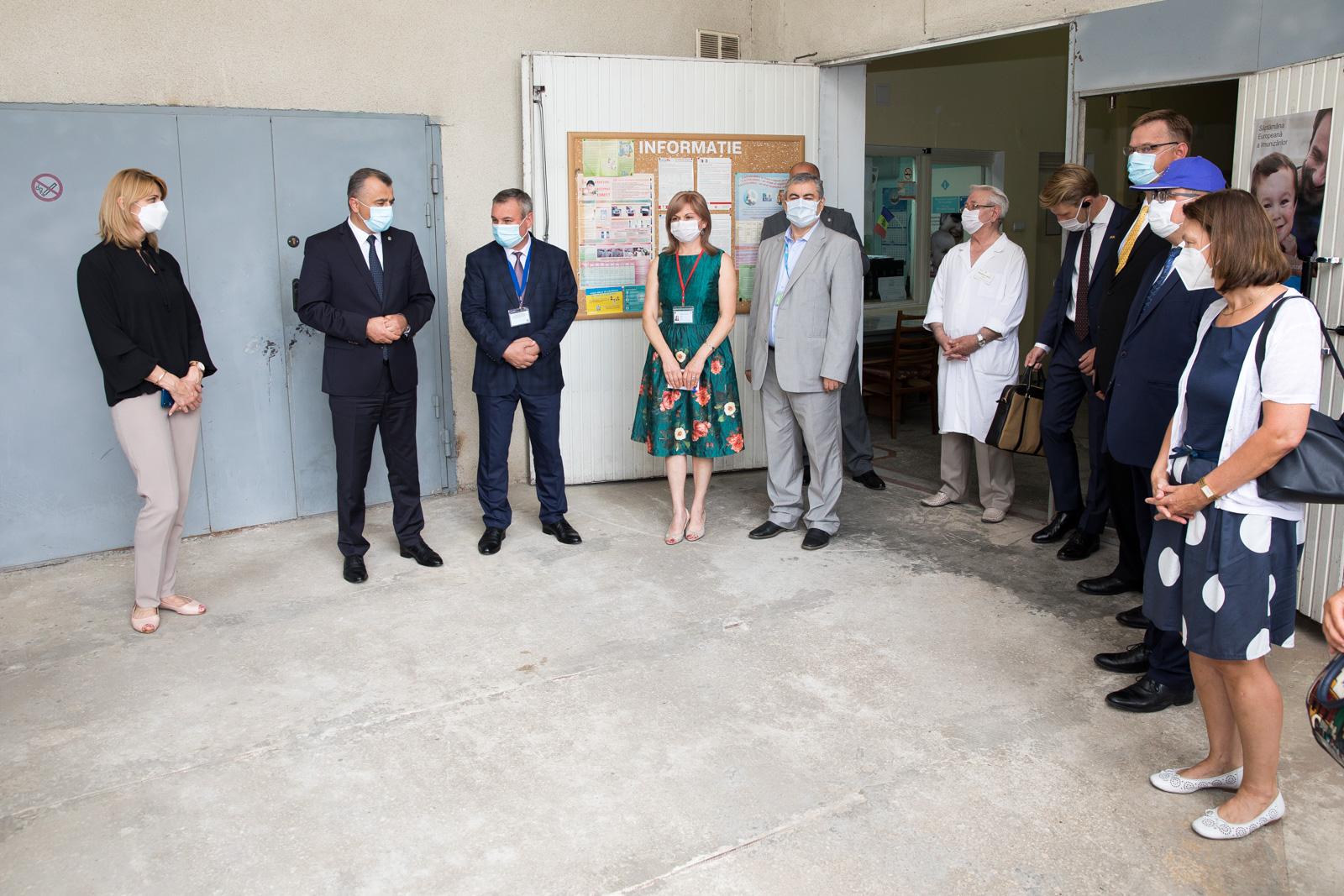 ВМолдове открыли центр координации чрезвычайных ситуаций вздравоохранении (ФОТО)