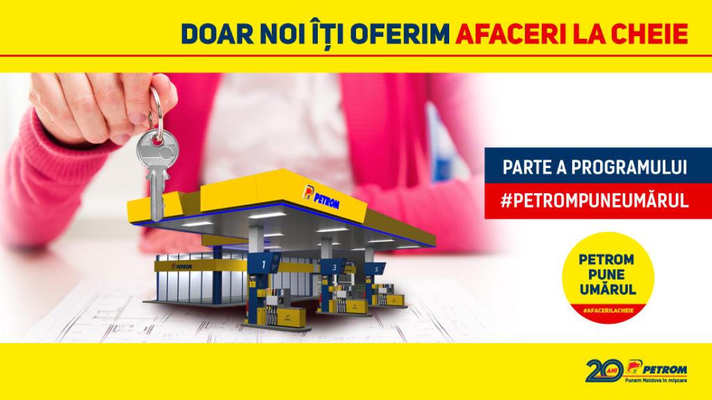 PETROM PUNE UMĂRUL: Бизнес «под ключ» отPetrom Moldova